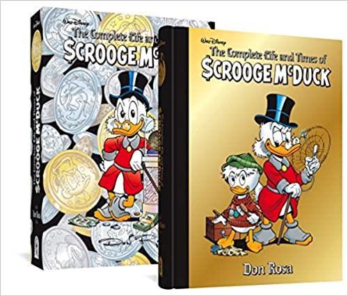The Complete Life and Times of Scrooge Mcduck by Don Rosa-Litografia firmata+moneta - solo su premierecollectibles.com