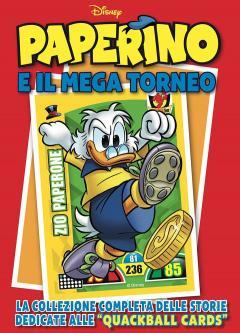 Disney Mix 11 - Paperino e il mega torneo + set completo delle quackball cards