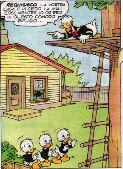 La lotta per la casa sull'albero ha inizio!