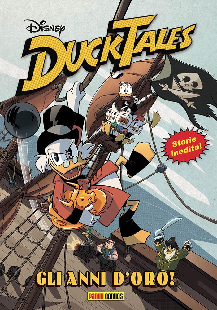 Il primo volume dedicato ai fumetti del reboot di DuckTales