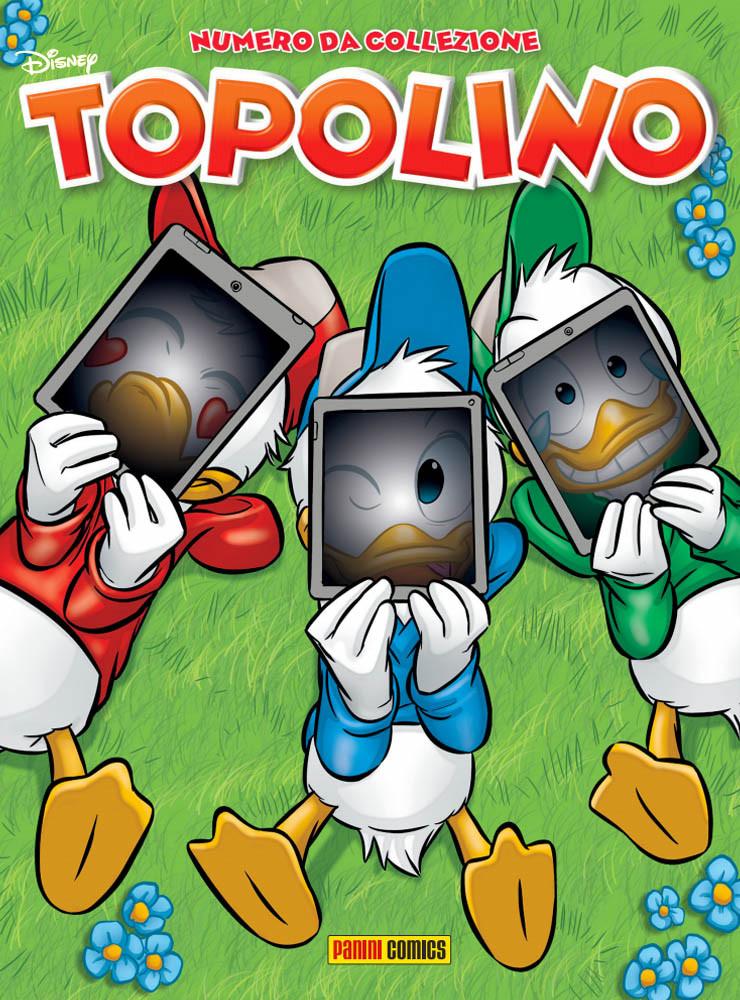 La copertina variant di Topolino 3355 realizzata da Claudio Sciarrone, inizialmente prevista per Cartoomics 2020