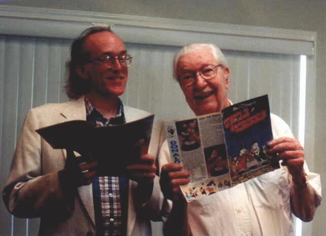 Don Rosa e Carl Barks negli anni Novanta