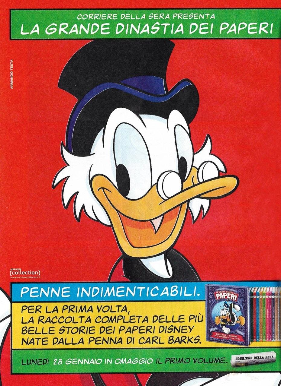 Immagine promozionale all'interno del Corriere della Sera
