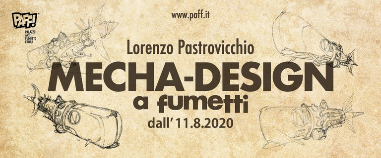 Lorenzo Pastrovicchio e il MECHA-DESIGN
