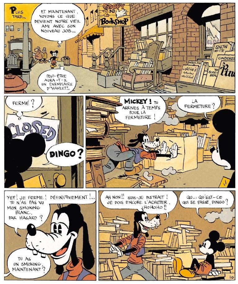Topolino e Pippo secondo Cosey