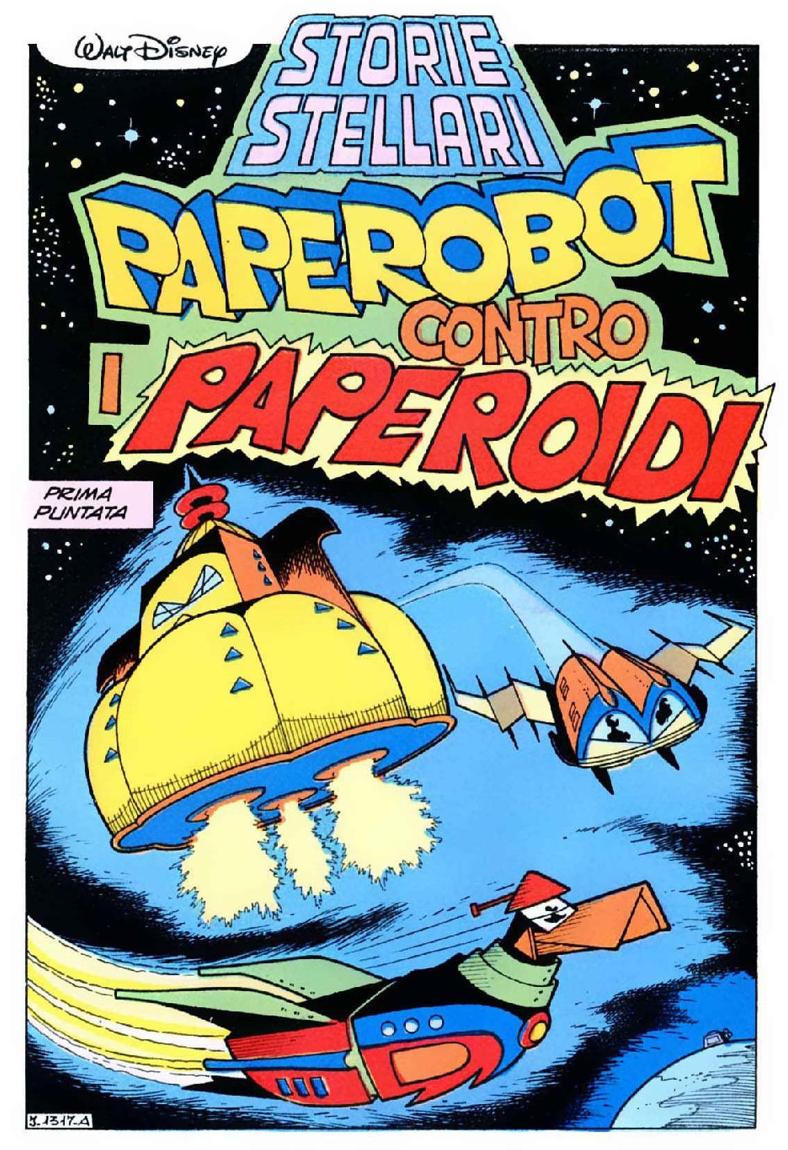 Paperobot contro Paperoidi