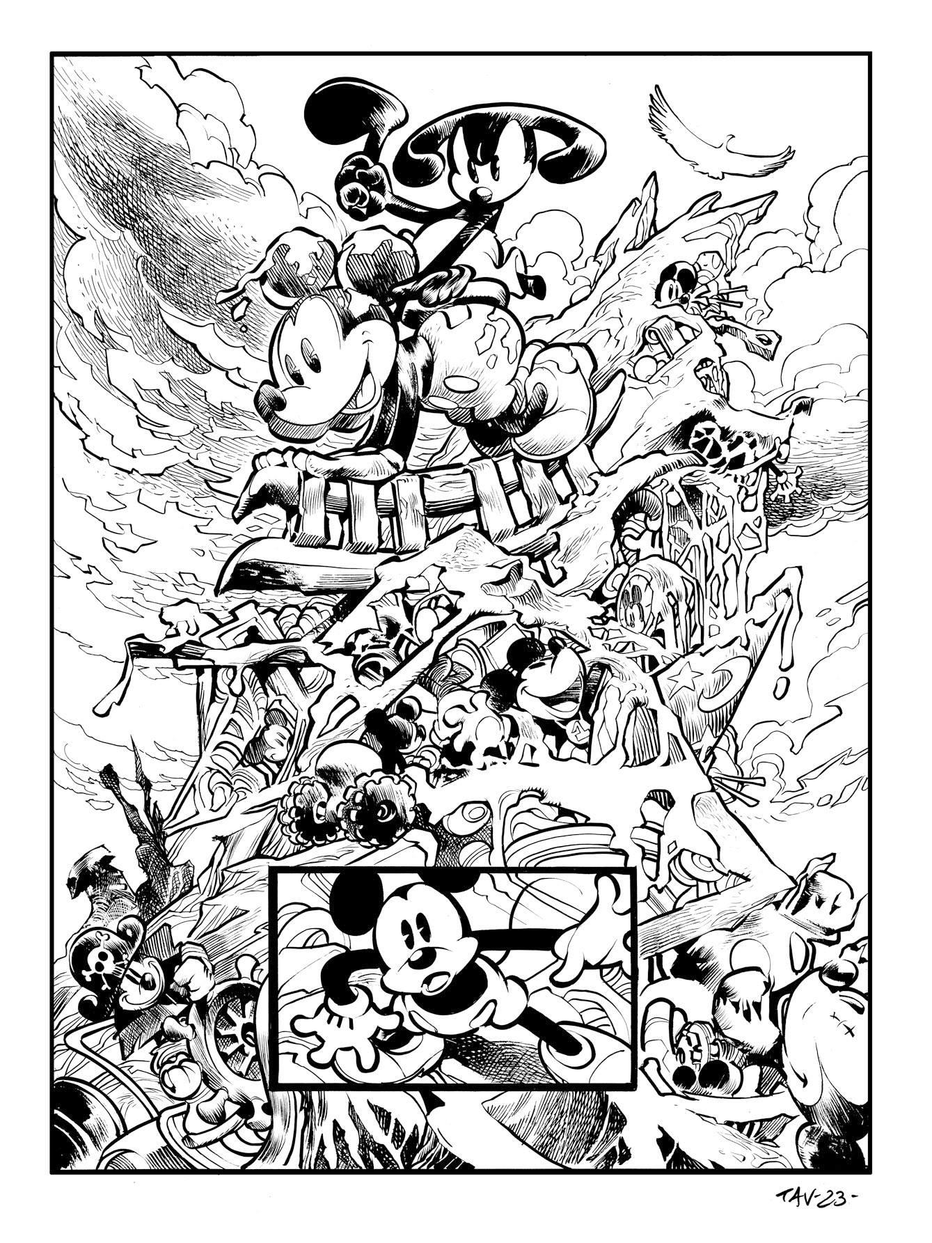 Tav. 23 Epic Mickey