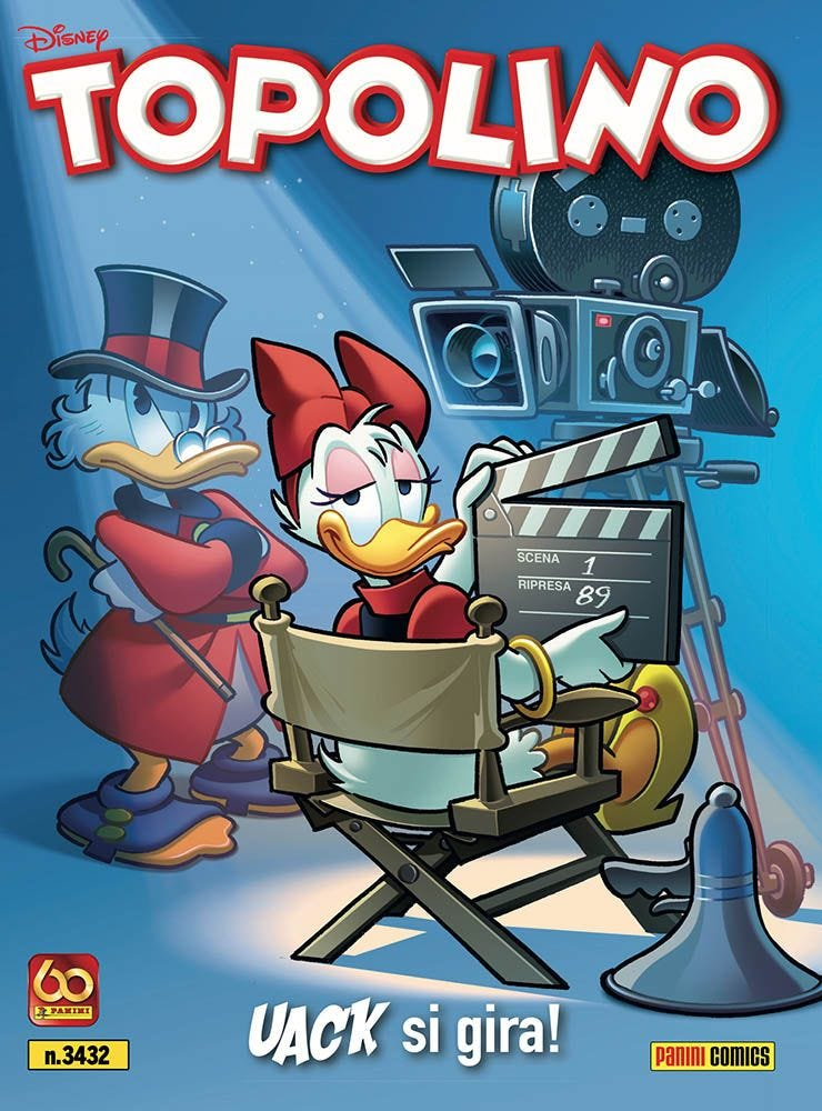 Topolino 3432 - La copertina