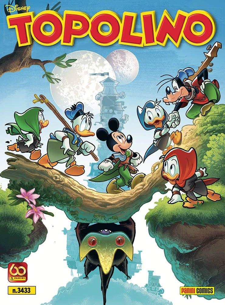 Topolino 3433 - La copertina